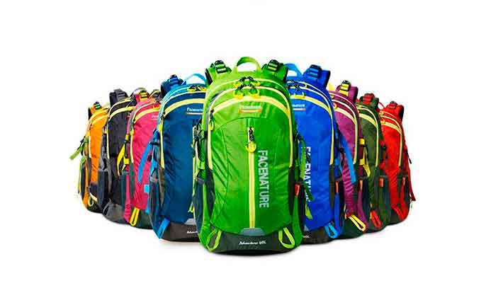 Diferentes tipos de mochilas