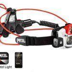 Linterna frontal Petzl NAO+, comodidad y autonomía profesional.