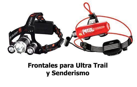 Frontales para Ultra Trail y senderismo