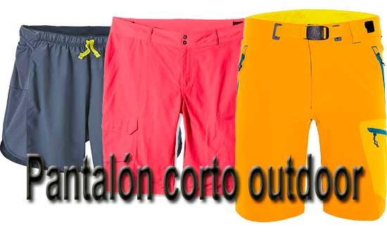 Pantalón corto outdoor