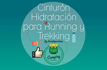 Cinturón hidratación running